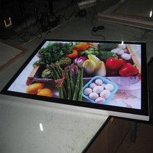 A4 Single Side Aluminum Frame LED Magnetic Advertising Light Box for Cafe,Tea,Hotel,Restaurant etc
