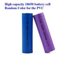 Cheap E Cigarette 18650 Battery 3.7V 2400mAh Rechargeable Li-ion Battery suitable flashlight 18650 battery cell(1pc)