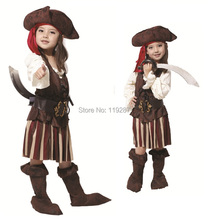 Shanghai Story new Halloween children whimsy nifty cosplay costume pirates pirates dress carnival party costume of the girls