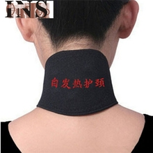2017 Hot   Self Heating Magnetic Therapy Headache Belt Soft Neck Massager Belt  Mar17