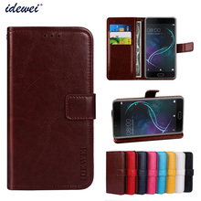 Buy IDEWEI Luxury Business Style Case Doogee Shoot 1 Flip Wallet Leather Card Holder Stand Case Cover Doogee Shoot 1 for $5.30 in AliExpress store