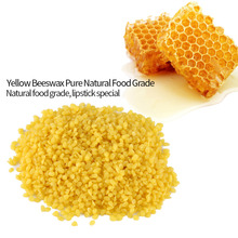 50g Yellow Food Grade Pure Natural Beeswax Cosmetics Materials for Handmade Soap Making
