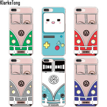 KlarkeTong Honda VW Bus Pattern Phone Cases for iphone 5s 6 6s 7 5 SE 7Plus 6 Plus Game Boy Design Shell Phone Cover Coque
