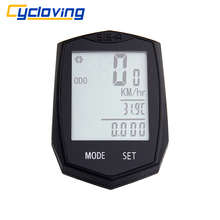 Cycloving Wireless Bike Computer bicycle Speedometer Odometer Cadence Multi-Function bike accessories(China)