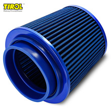 TIROL T10176 Air Filter Universal Auto Cold Air Intake Adjustable Neck(China)