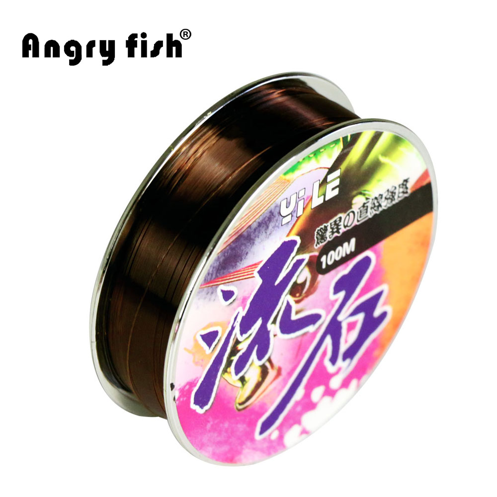 LiuShi100 m Brand monofilament fishing line, nylon material,super line(China (Mainland))