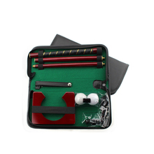 Creative Executive Complete Indoor Putter Gift Set Mini Golf Putting Set putting Green with shaft and ball gate an balls(China)