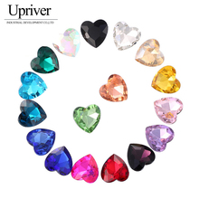 50PCS  Crystal Non Hotfix Glass Crsyal CrsyalAB Mix Colors Trim Sew Rhinestone Crystal Applique For Dresses Craft Sewing