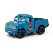 "Disney Pixar Cars 2 Blue NO.90 ""Bumper Save ""Pickup Truck Cartoon Movie Model Metal Diecast Toy Car 1:55 Alloy Car Kid Gift(China)"