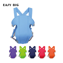 EASY BIG 6-Colors Ergonomic Baby Carrier Sling Breathable Baby Hipseat Backpacks & Carriers Multifunction Backpack Sling(China)