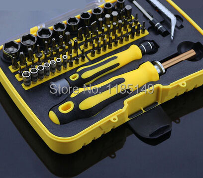 Full Household 49 in 1 Hardware Tools Sets Screwdriver Head Assembly Tools<br>