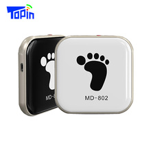 Ultra Thin Mini GPS Tracker Portable Personal Locator GPS+ AGPS+LBS+Wifi Geo-fence Real-time Call Tracking for Kids Car Vehicle(China)