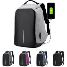 Outdoor Waterproof Large Capacity USB Charging Backpack Camera Bag Laptop Bag Anti Thief Travel Bag for Teenagers Man Males