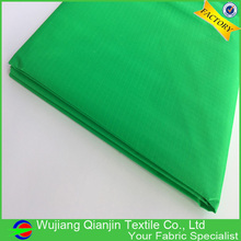 Promotional top quality light weight green color 70D ripstop kite fabric