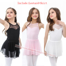 Ballet Dance Costume Children Sexy Sleeveless Practice Gymnastics Leotard Girls Dance Ballet Dress(China)