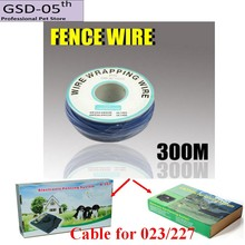 300M Wire Cable for Underground Electric Dog Pet Fencing System InGround Electric Dog Fence Shock Collar Dog Training Collar 023(China)