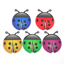 Ladybug Suction Hooks Self Adhesive Hook Kitchen Bathroom Vacuum Holder Suckers Random