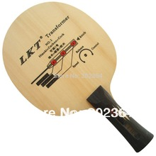 LKT Transformer NO.1 Hinoki+Carbon+Cork Shakehand Table Tennis / PingPong Blade Shakehand Long handle FL