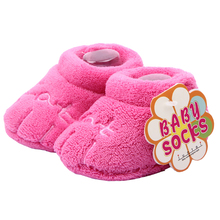 Buy Unisex Baby Newborn Cozie Faux Fleece Bootie Winter Warm Walker Shoes Infant Toddler Crib Shoes Classic Floor Boys Girls Boots for $2.49 in AliExpress store