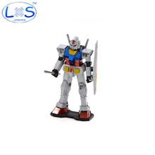 2 style Color plate Fun Mobile Suit Gundam 3D Metal Puzzles DIY Robot Model Gift Jigsaws exclusive Mech Toys Present Gift