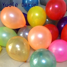 2016 New 10pcs 10inch Blue latex balloon air balls inflatable wedding party decoration birthday kid party Float balloons