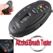 Digital LCD Alcohol Tester Analyzer Breath Breathalyzer ( H17 ), , dropshipping(China)