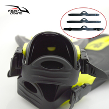 KEEP DIVING Adjustable Scuba Diving Fins Accessories Diving Fins Strap & Buckle 3 Size for Choose