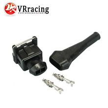 VR RACING - EV1 Fuel Injector Connectors For many cars EV1 Injector Plug VR-FIC12(China)