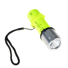 A8 Underwater 2500LMs XM-L T6 LED Diving Flashlight Torch Lamp Best Selling High Quality(China)