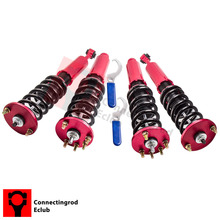 Coilover Suspensions Kit For Honda Accord 03-07 Honda Acura TSX 2004-2008  Over Shock Struts Absorbers Spring Front Rear  10kg