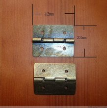 30*32MM Packaging Flat Hinge  Metal together  Page wooden gift box hinge  Ordinary hinge  Coincide page hinge Wholesale