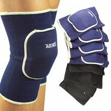 Men Women Soft Elastic Breathable Support Brace Knee Protector Sports Bandage Pad