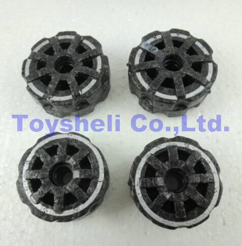 yd922 spare parts Foam wheels 2 pcs big &amp; 2 pcs small Attop toys YD-922 RC Helicopter flying car parts<br><br>Aliexpress