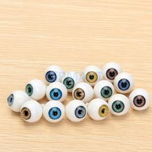 Free Shipping  8 Pcs Round Acrylic Doll Eyes Eyeballs 14mm