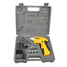 45 in1 Combination Tool Hand Magnetic Cordless Electric Drill Bit Electronic Cordless Screwdriver Drill Screw Driver Power Tool(China)
