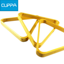 High Quality Cuppa Pool Ball Triangle Rack Natural Wood Billiards Accessories China(China)