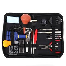 Buy Watch Tools 22Pcs Watch Repair Tool Kit Watch Parts Clock Case Opener Watch Link Pin Remover Spring Bar for $18.94 in AliExpress store