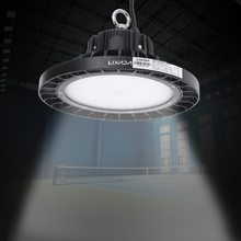 200W DLC UL TUV GS Listed Ultra Bright Industrial Light LED Lamp Factory Exhibition Hall Stadium Mine Market Industrial Light
