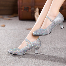 NEW Women Latin Dance Shoes Suede Sole Ballroom Salsa Tango Dancing Shoes for Ladies