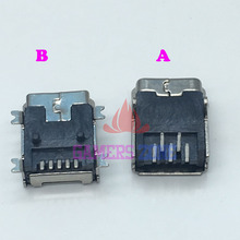 100PCS New Mini USB Charging Socket Port for Sony Playstation PS3 DualShock Controller 2PIN 4PIN