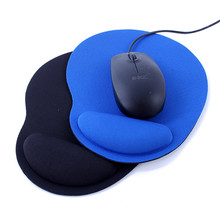 High Quality Wrist Protect Optical Trackball PC Thicken Mouse Pad Support Wrist Comfort Mouse Pad Mat Mice for Game 2 Colors(China)