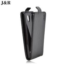 J&R Brand Flip Luxury PU Leather Cover for Lenovo A2010-a DS LTE Phone Case  Vertical Back Cover 21 Colors Good Quality