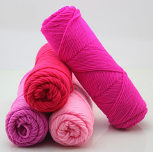 wholesale 10 balls/lot 500g natural soft silk milk cotton yarn thick yarn for knitting baby wool crochet yarn weave thread,Z2467