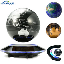 Buy world map decoration led and get free shipping on aliexpress novelty funny c shape magnetic levitation led floating tellurion light globe anti gravity world map lights gumiabroncs Image collections