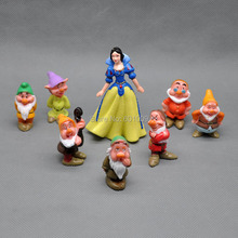 Free Shipping EMS 30/Lot 8 pcs Snow White and the seven dwarfs Collection Figure NEW #2