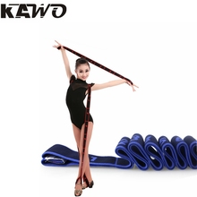 4 Colors 90x4cm Children Latin Elastic Band Girls Yoga Tension Belt Adult Practice Girdle Dance Training With Correct