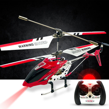 Original Syma S107G S107 3.5CH RC Helicopter with gyro Radio Control Metal alloy fuselage R/C Helicoptero Mini Indoor Co-Axial