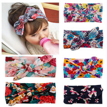 Buy 1 X Bebe Kids Girl Flower Bow Hairband Turban Knot Rabbit Bowknot Headband Headwear NEW Hair Band Accessories for $1.27 in AliExpress store