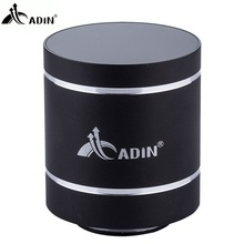 Hot ! ADIN Metal Bluetooth Speaker 10W Mini Vibration Speaker Mobile Wireless Computer Small Subwoofer Vibration Sound Speakers