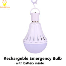 E27 Energy Saving Emergency LED Bulb Lights Rechargeable Led Lamps 5W 7W 9W 12W 220V Battery Bulb Outdoor Household Lighting